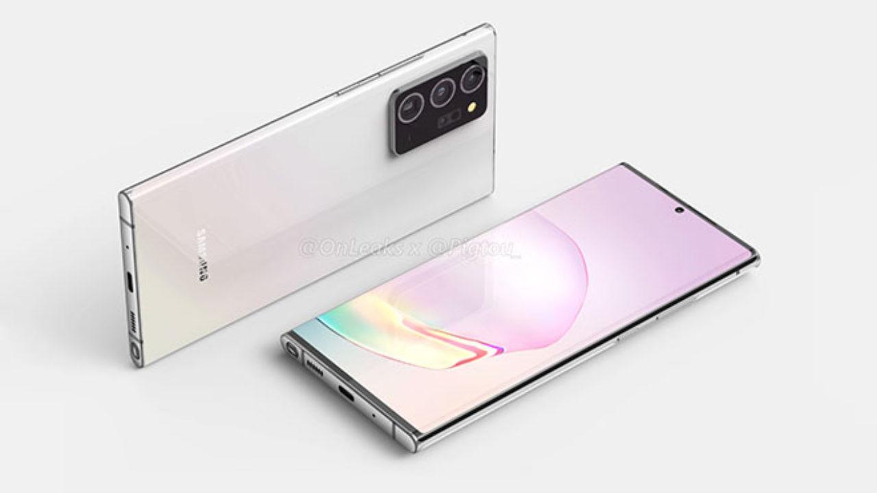 Samsung Galaxy Note 20 ve Note 20 Plus özellikleri sızdırıldı!