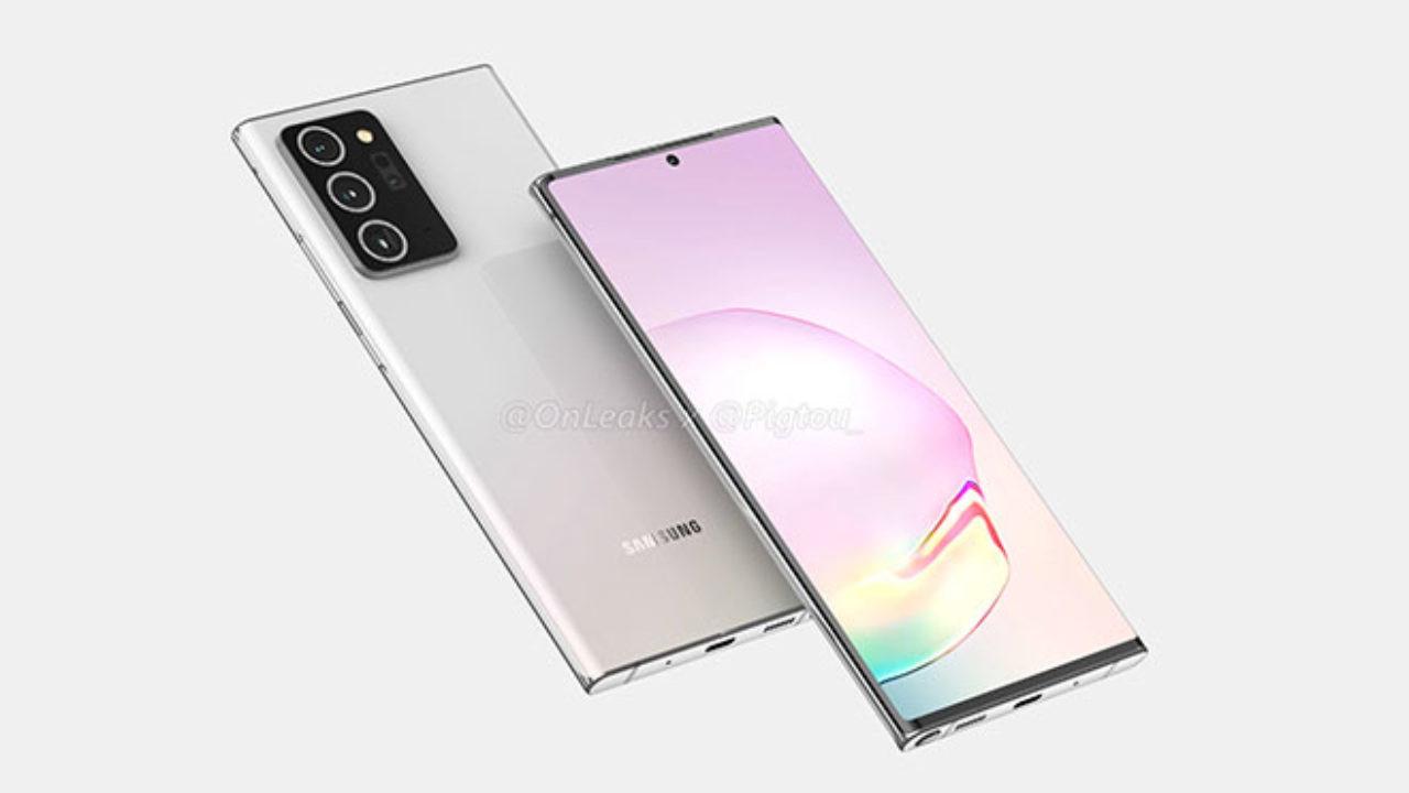 Samsung Galaxy Note 20 Ultra basın görselleri ortaya çıktı!