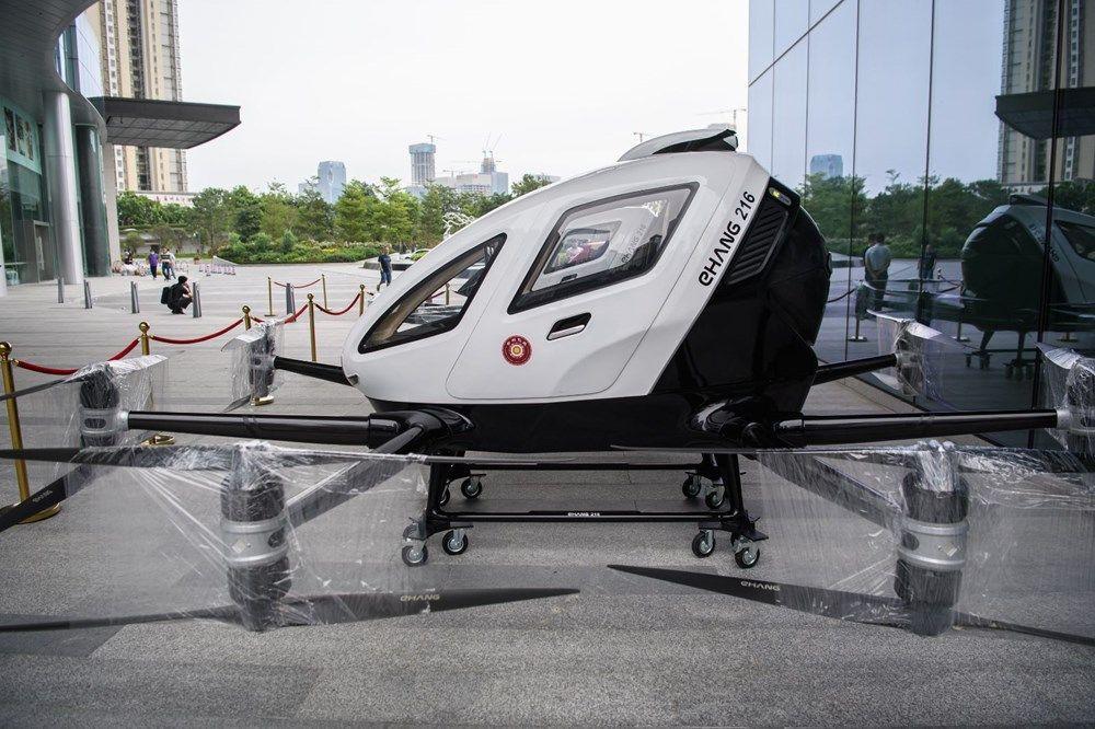 Çin insan taşıyan drone hizmetine başladı! - Page 2