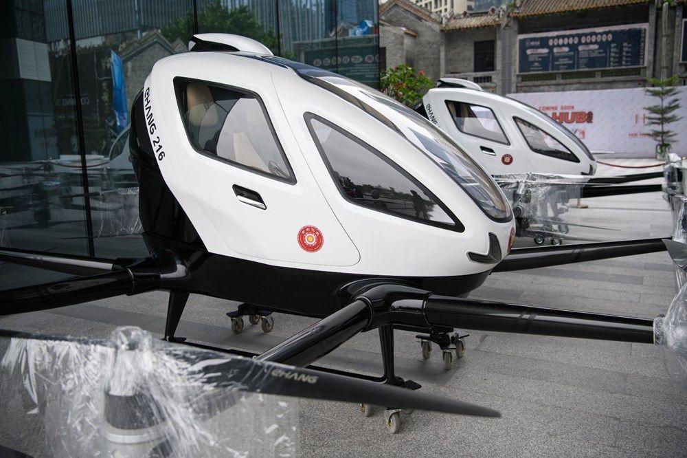 Çin insan taşıyan drone hizmetine başladı! - Page 1