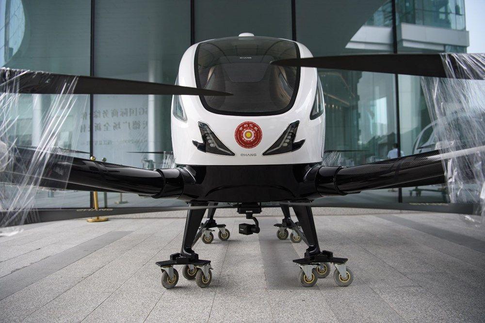 Çin insan taşıyan drone hizmetine başladı! - Page 3