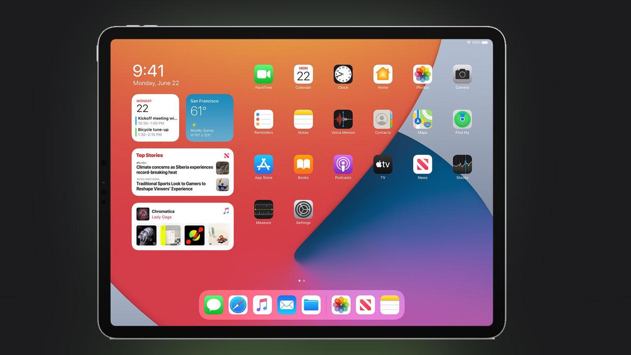 Apple iPadOS 14 işletim sistemini tanıttı