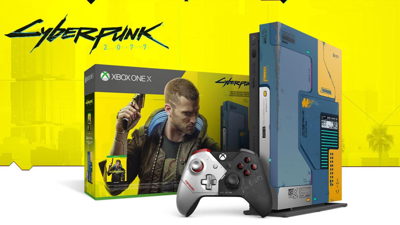 Xbox One X Cyberpunk 2077 sürümü Türkiye'de