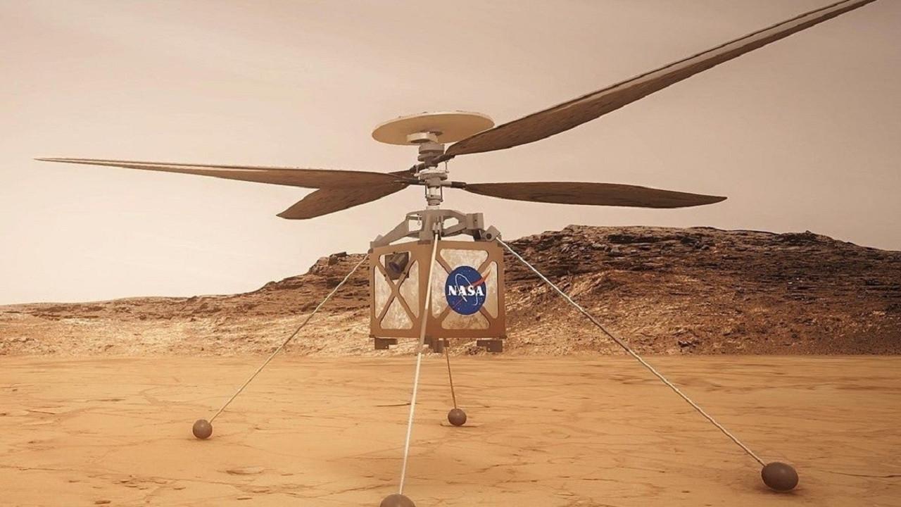 NASA, Mars'a helikopter göndermek için geri sayıma başladı!