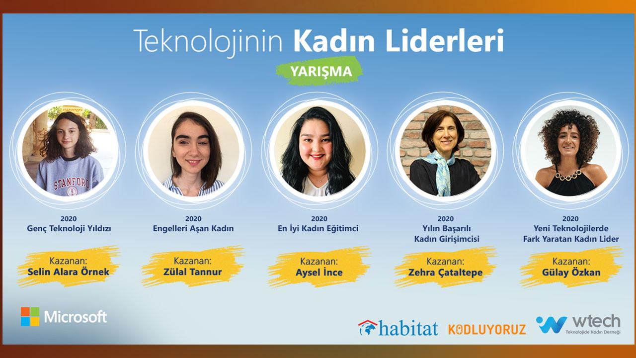 Teknolojinin Kadın Liderleri yarışması sonuçlandı