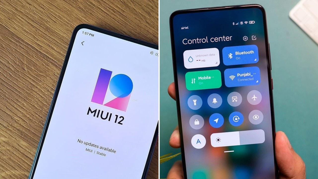 MIUI 12 kararlı sürümü dağıtıma çıktı! İşte ilk alan modeller!