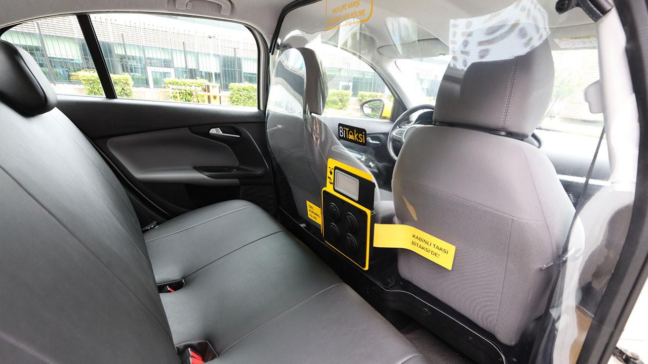 BiTaksi ve Fiat'tan koronavirüse karşı kabinli taksi projesi