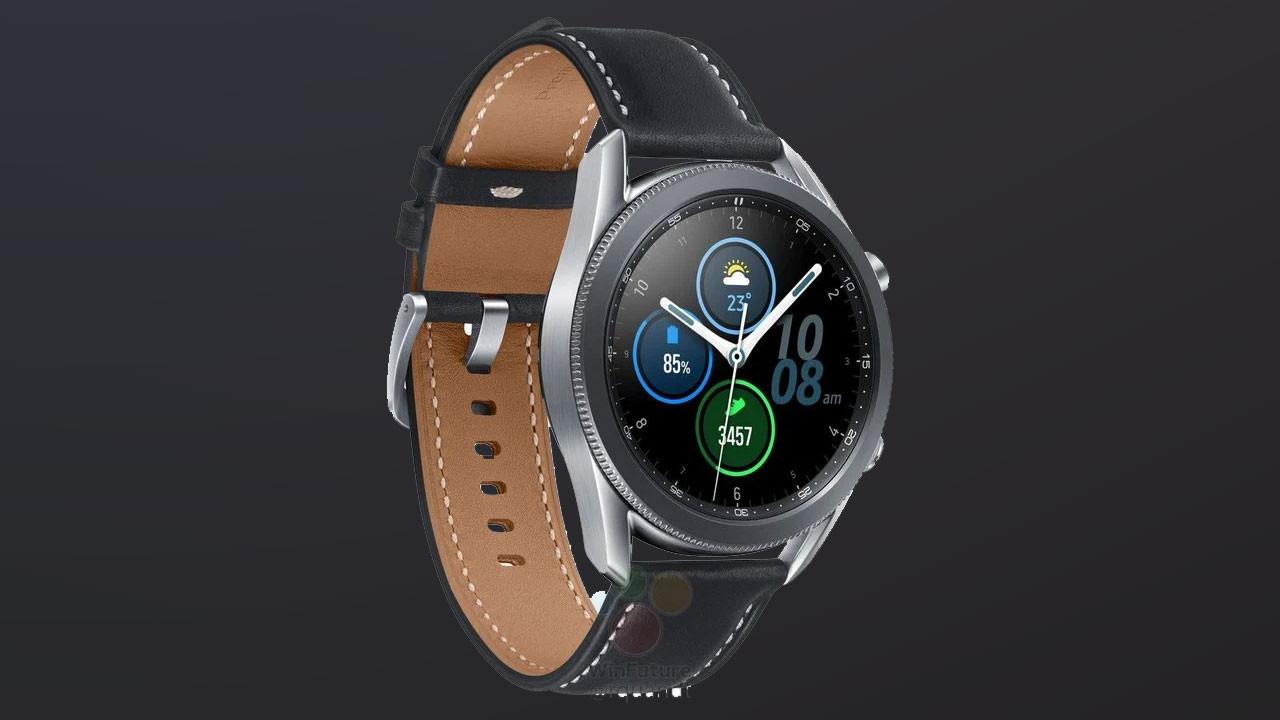 Samsung Galaxy Watch 3 yüzünü gösterdi
