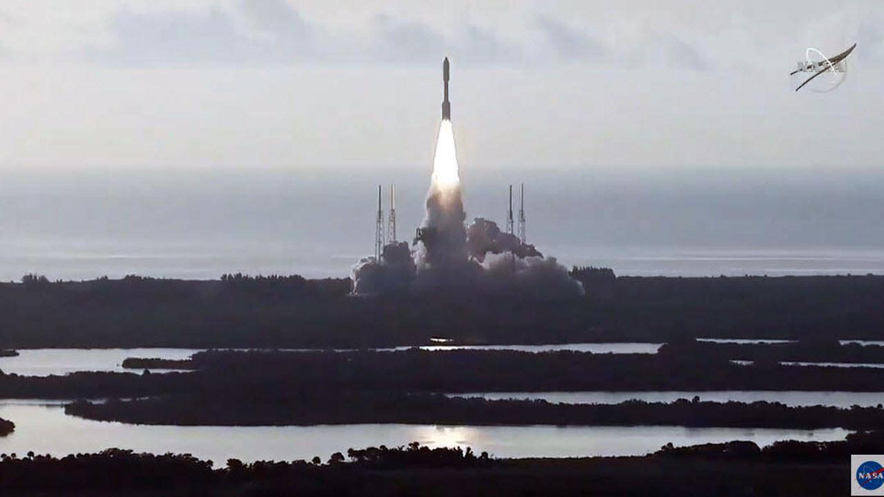 NASA'nın Mars yolculuğu başladı