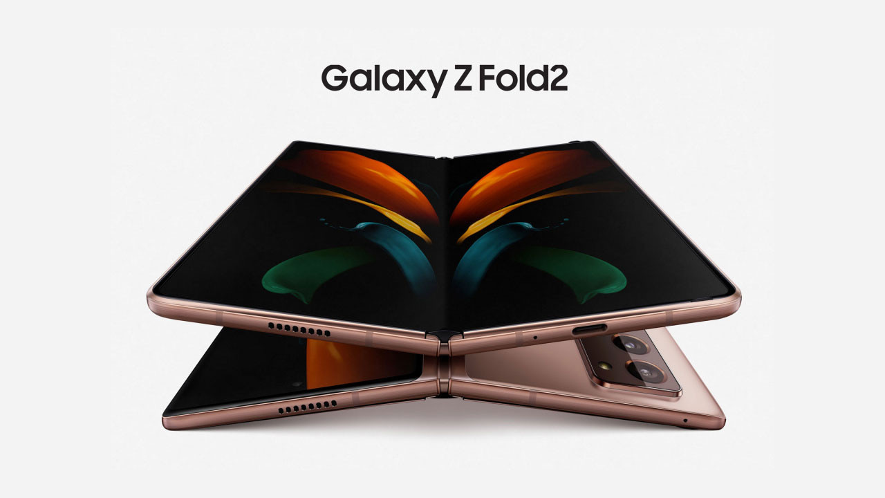 Yeni katlanabilir telefon: Samsung Galaxy Z Fold2