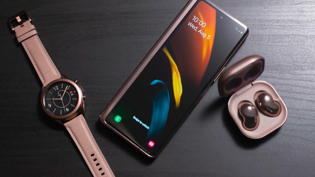 Sızan Galaxy Z Fold 2 5G reklamı, cihazı çalışırken gösteriyor!