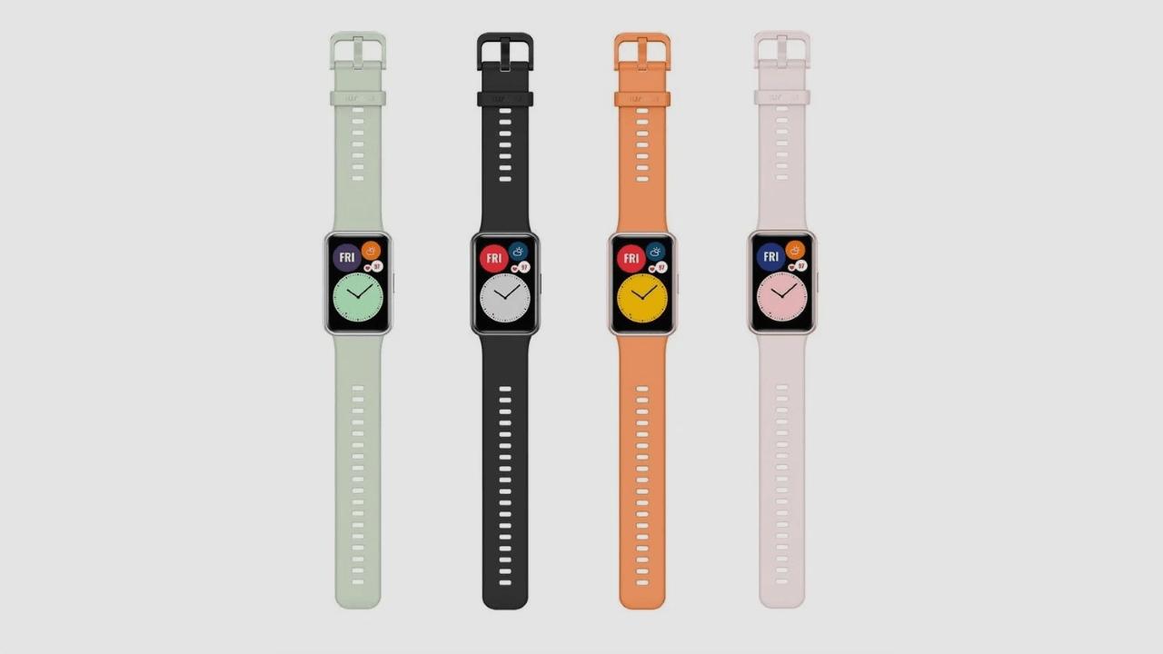 Huawei Watch Fit tanıtıldı! İşte özellikleri ve fiyatı!