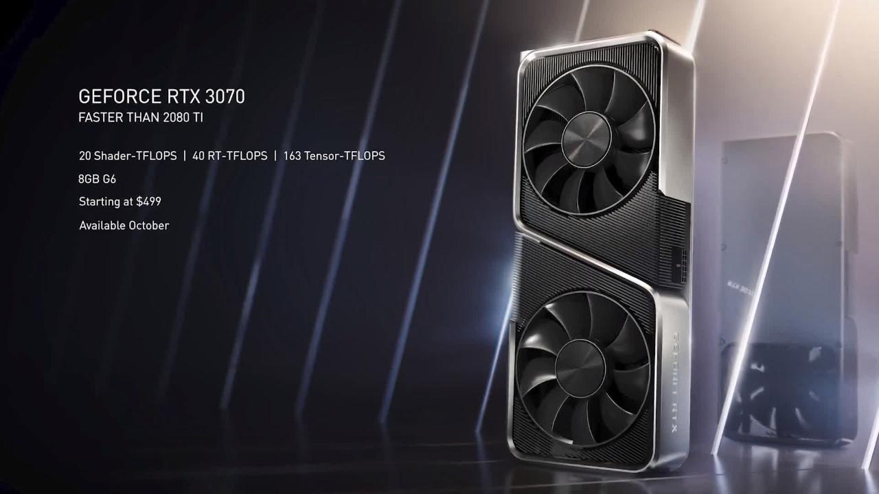 NVIDIA RTX 3000 serisi tanıtıldı! İşte Türkiye fiyatları!