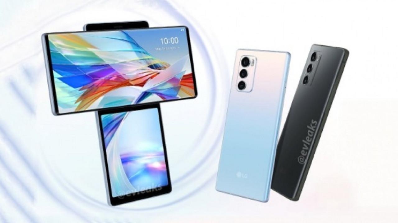 LG Wing tanıtıldı İşte T şeklinde akıllı telefon