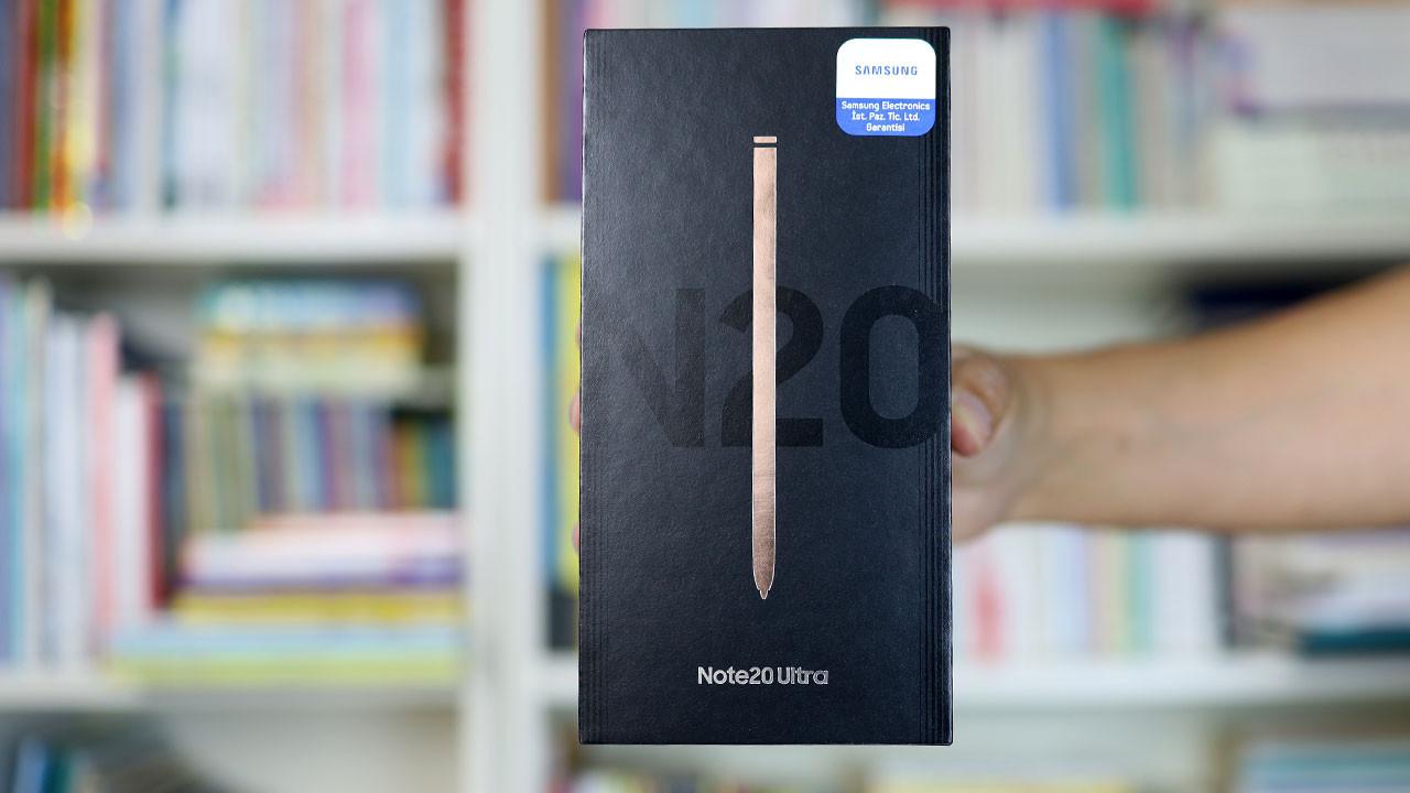 Geç oldu güç olmadı: Samsung Galaxy Note 20 kutudan çıkıyor