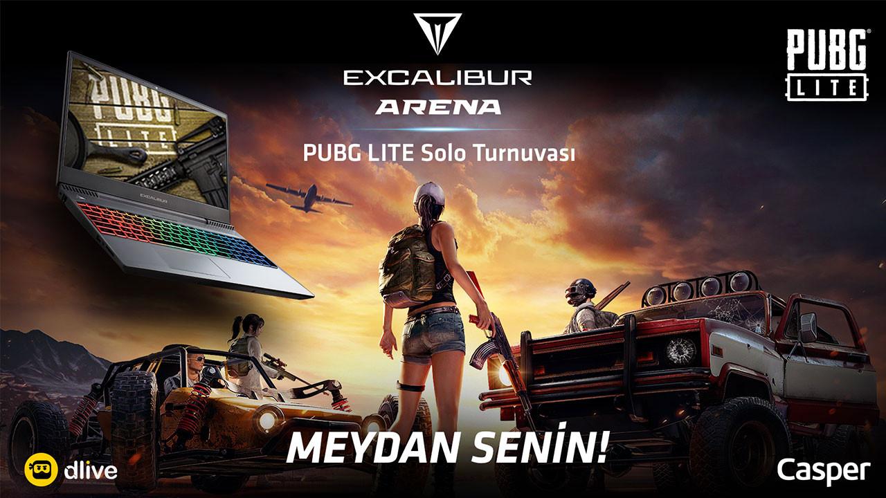 Excalibur Arena PUBG Lite Turnuvası başlıyor!