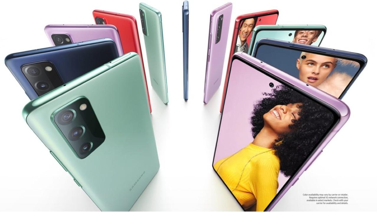 Samsung Galaxy S20 FE resmen görüntülendi!