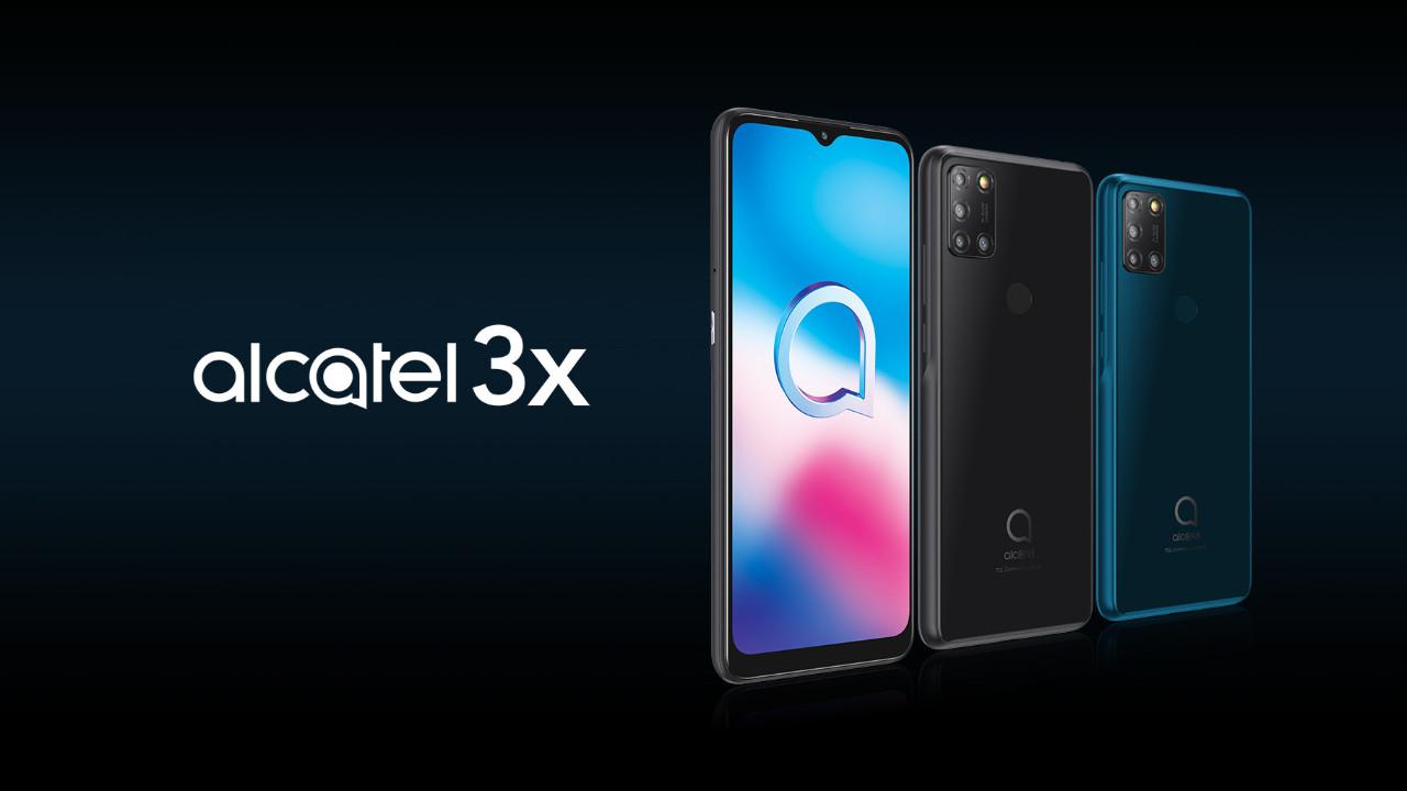 Bütçe dostu Alcatel 3x (2020) Türkiye'de satışta!