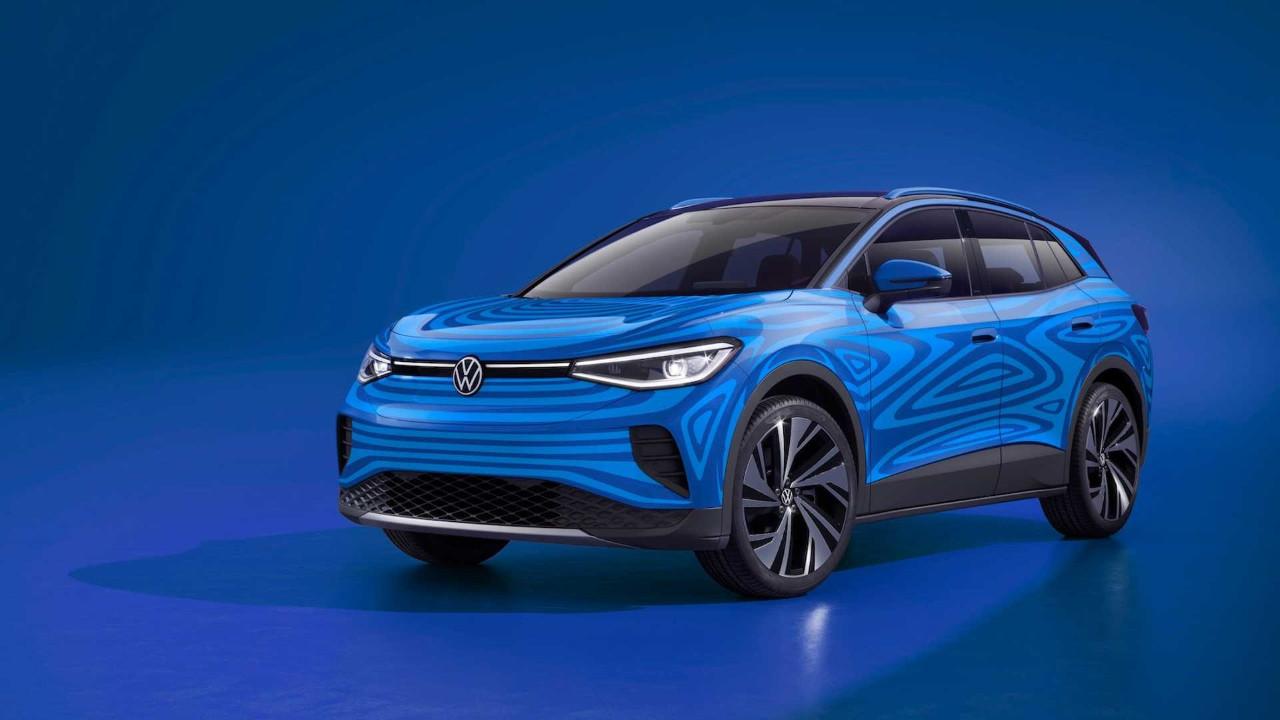 Elektrikli SUV modeli Volkswagen ID.4 tanıtıldı!