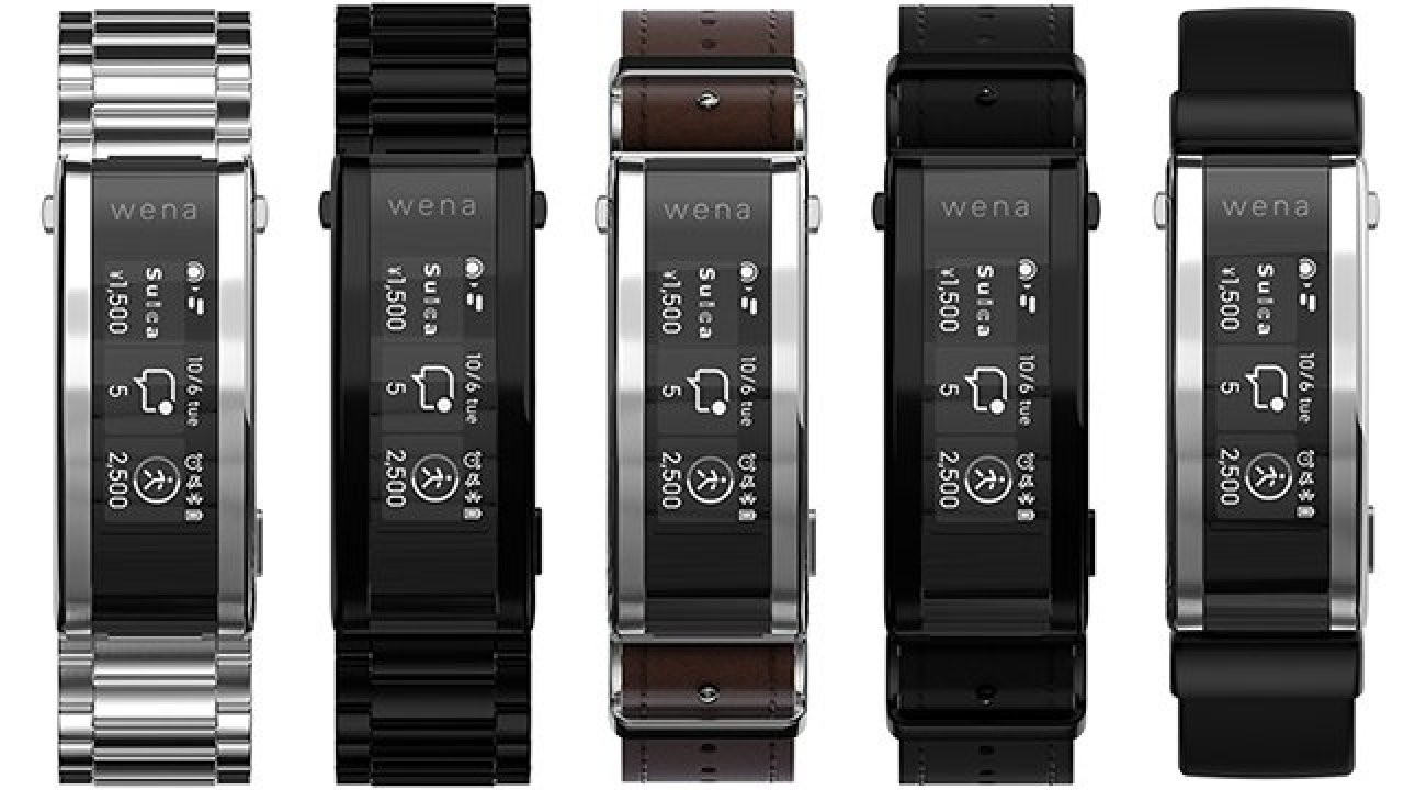 Sony Wena 3 akıllı kayış tanıtıldı! Akılsız saat kalmayacak!