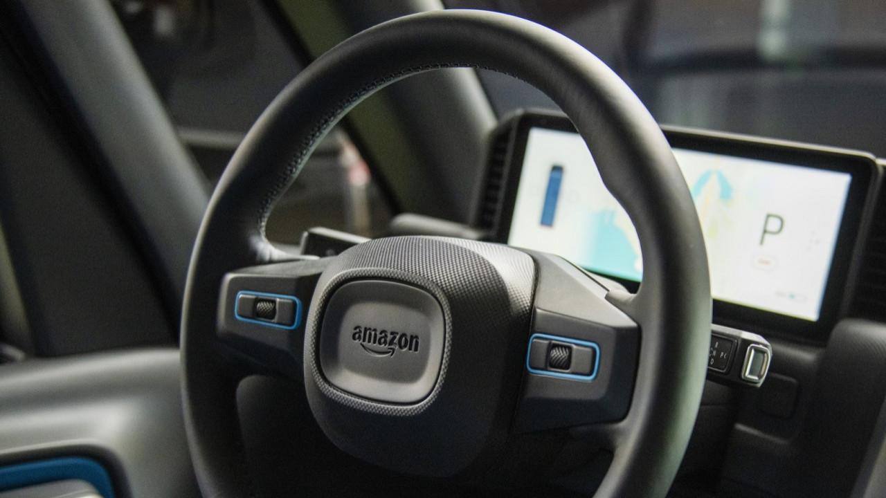 Amazon elektrikli aracını tanıttı! İşte tasarımı!