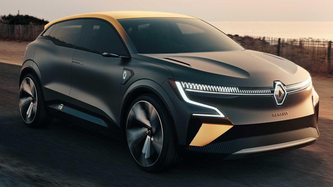 Renault'un elektrikli modeli Megane eVision tanıtıldı!