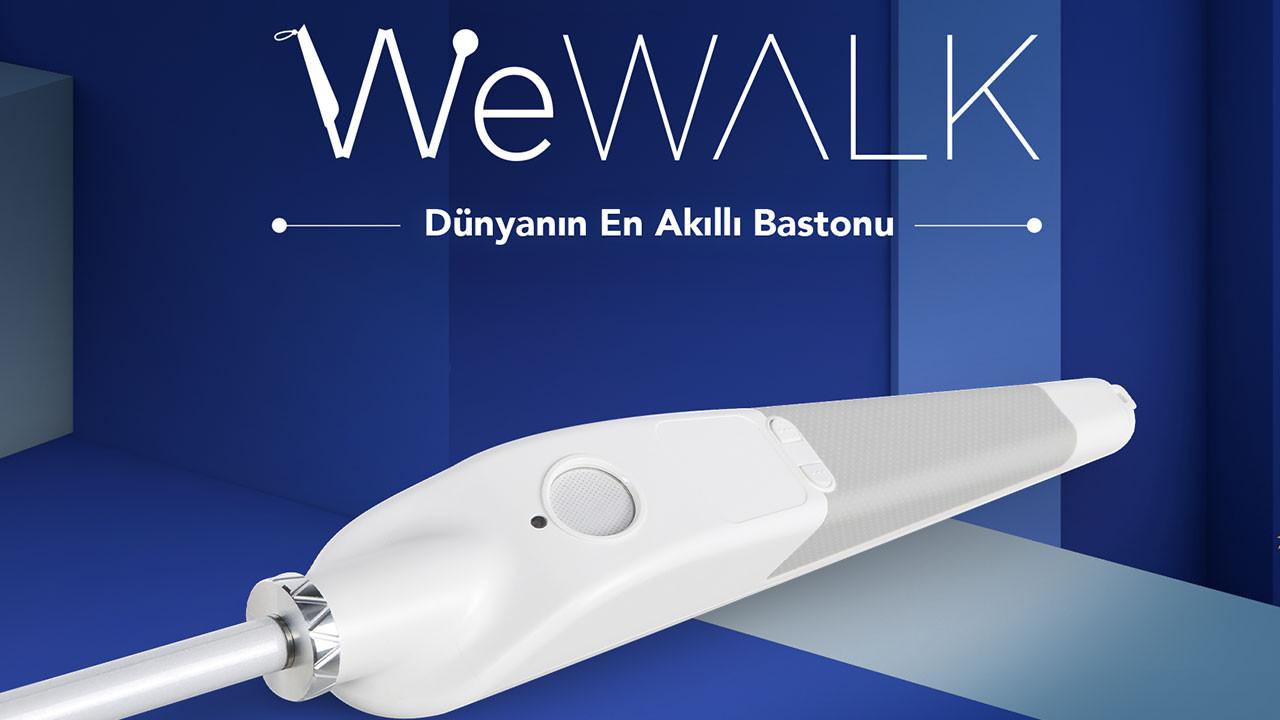 Microsoft programına seçilen ilk ürün WeWalk oldu