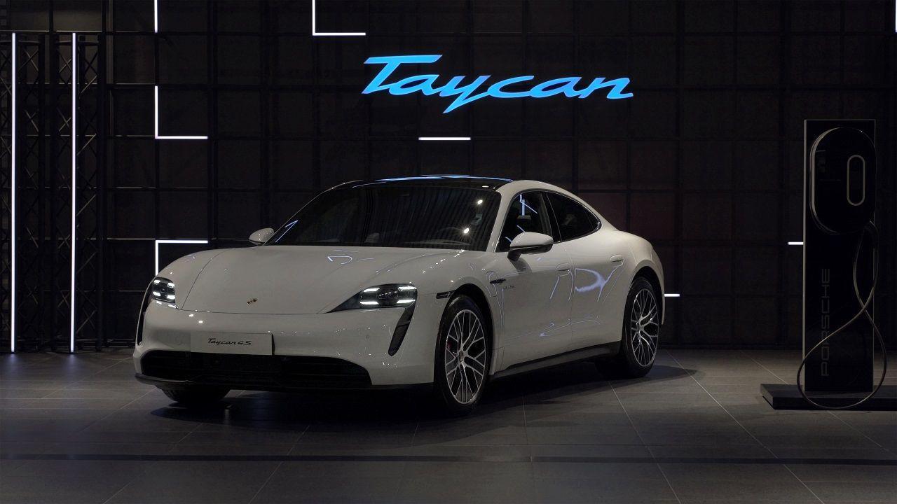 Elektrikli Porsche Taycan Türkiye'de! - Page 1