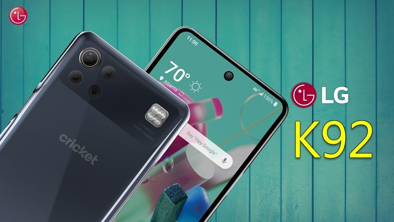LG K92 5G resmi olarak tanıtıldı!