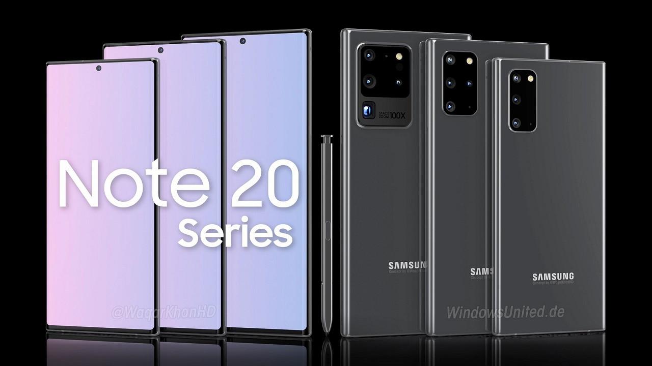 Samsung Galaxy Note 20 satışlarında fena patladı