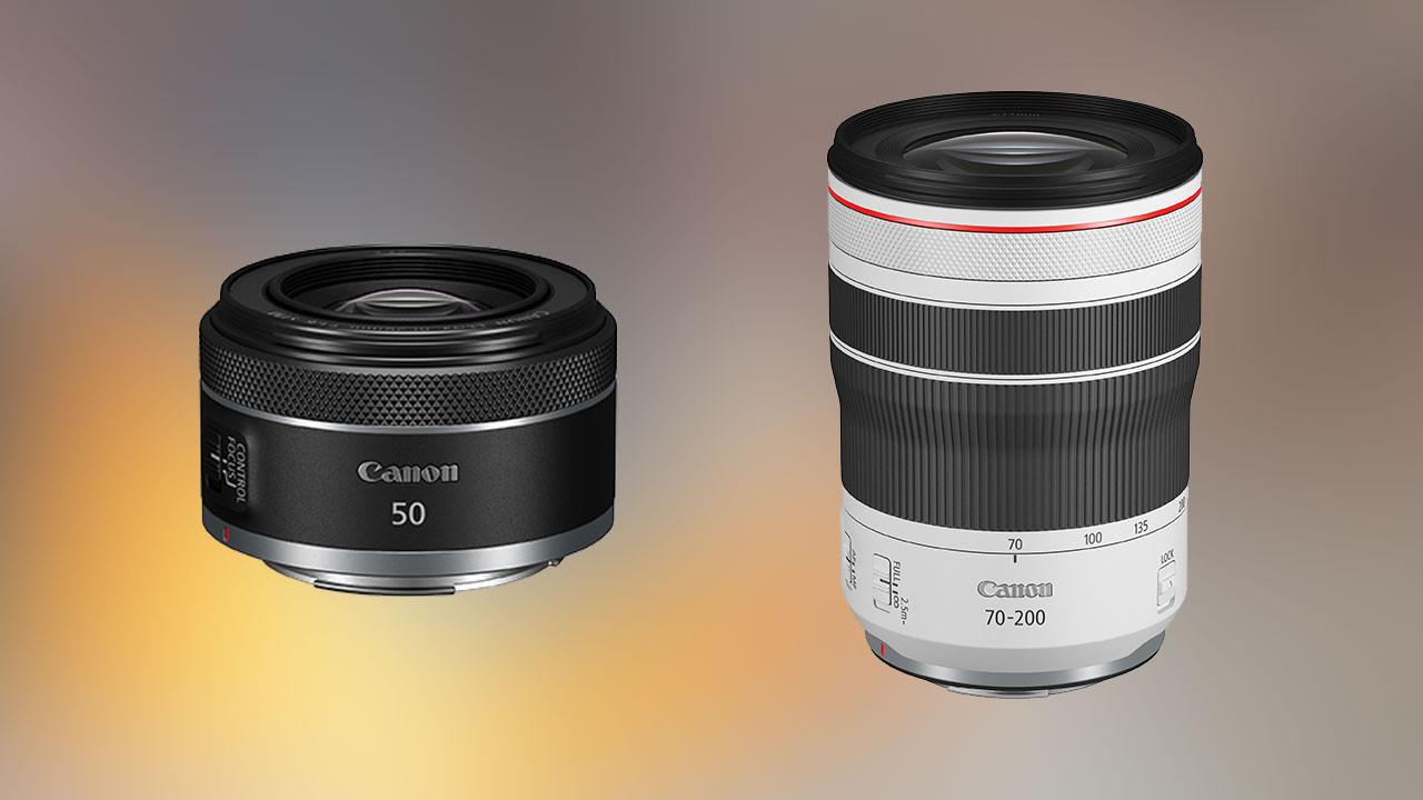 Canon'dan iki yeni objektif: RF 50 mm ve RF 70-200 mm