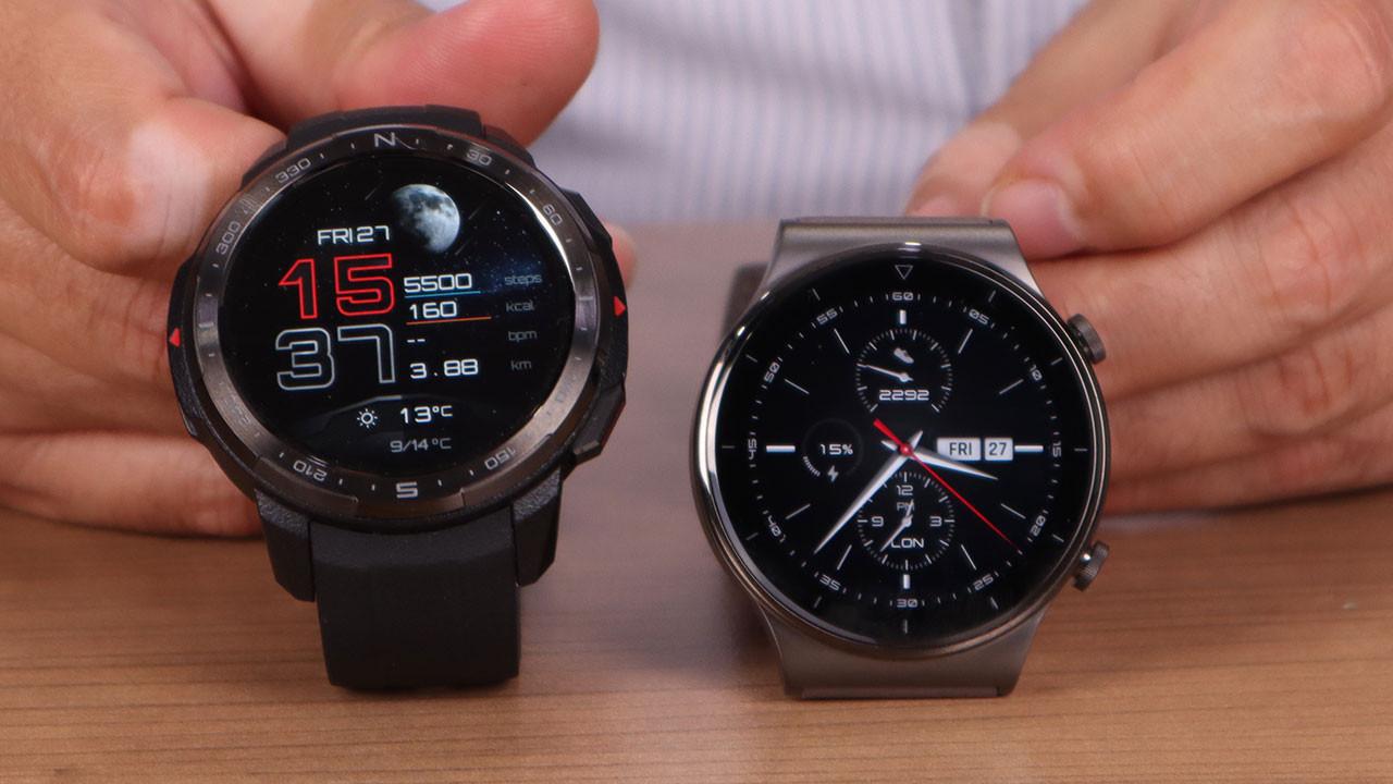 Huawei Watch GT 2 Pro ile Honor Watch GS Pro'yu karşılaştırdık