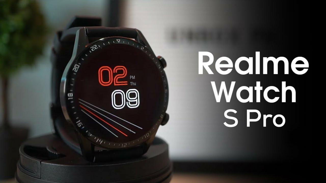 realme Watch S Pro akıllı saatini duyurdu!