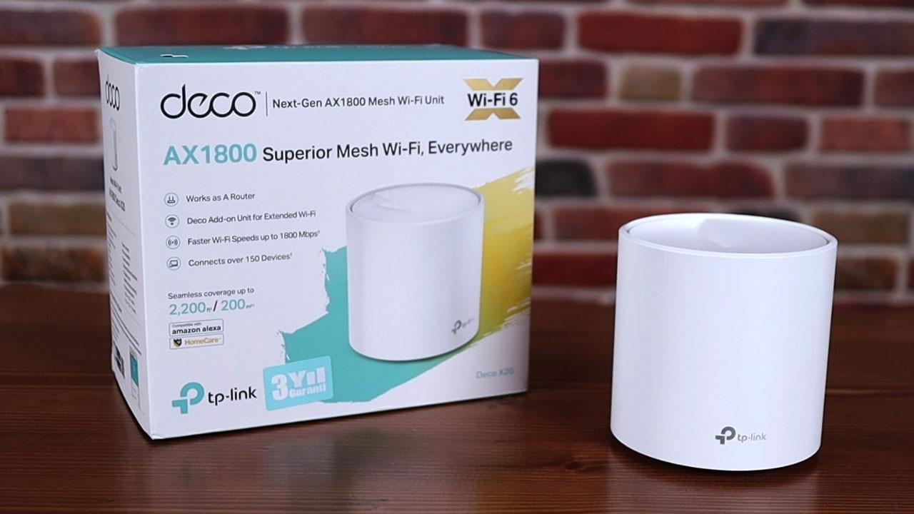 TP-Link Deco X20 | Ağınızı Wi-Fi 6 ile coşturun!