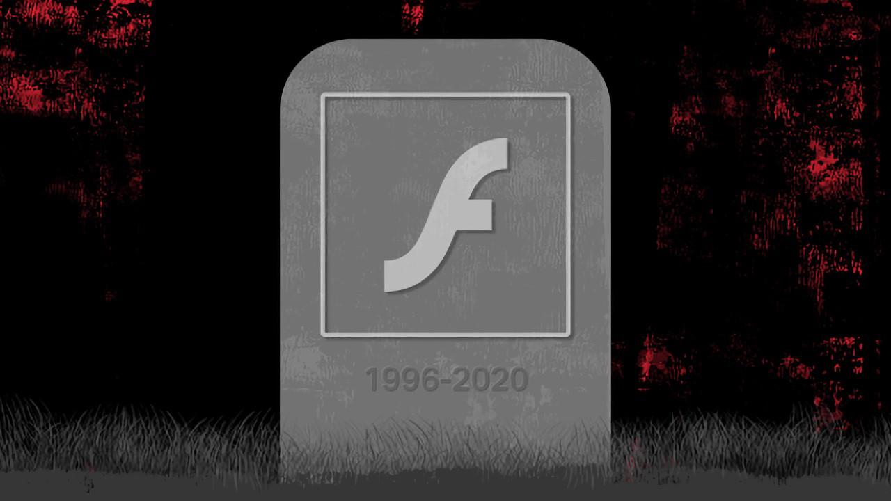 Adobe Flash Player için yolun sonu