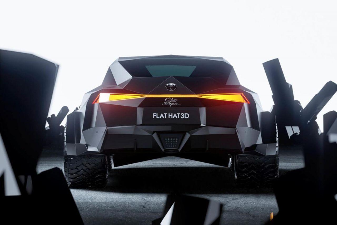 Toyota Supra Batmobile'e dönüştü! - Page 1
