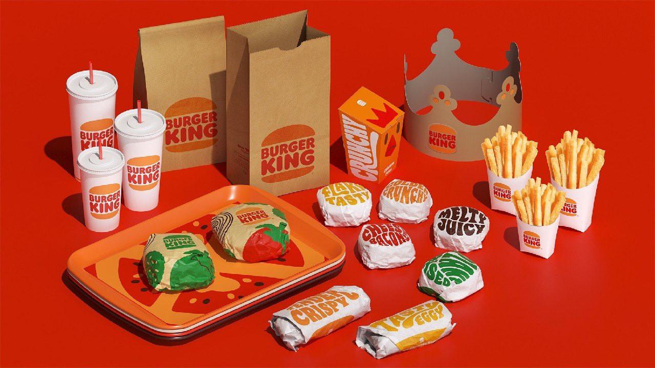 Burger King logosunu değiştirdi! İşte yeni Burger King logosu!