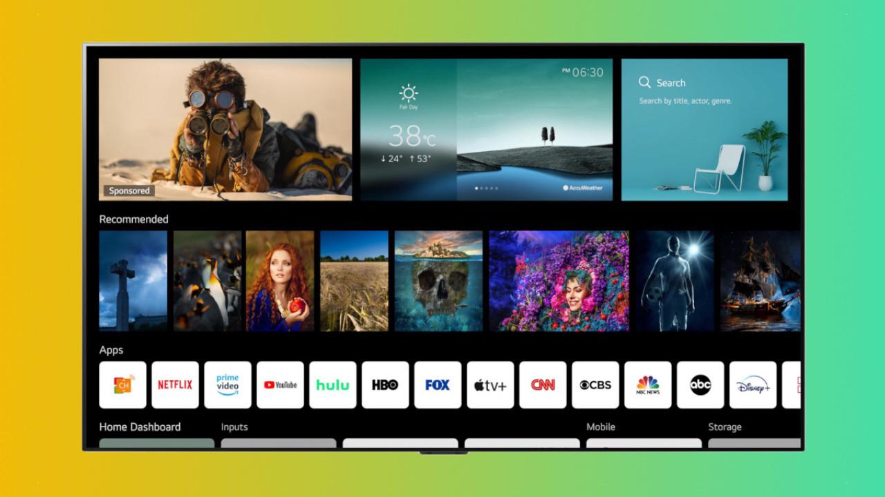 LG TV'ler webOS 6.0 güncellemesi ile coşacak!