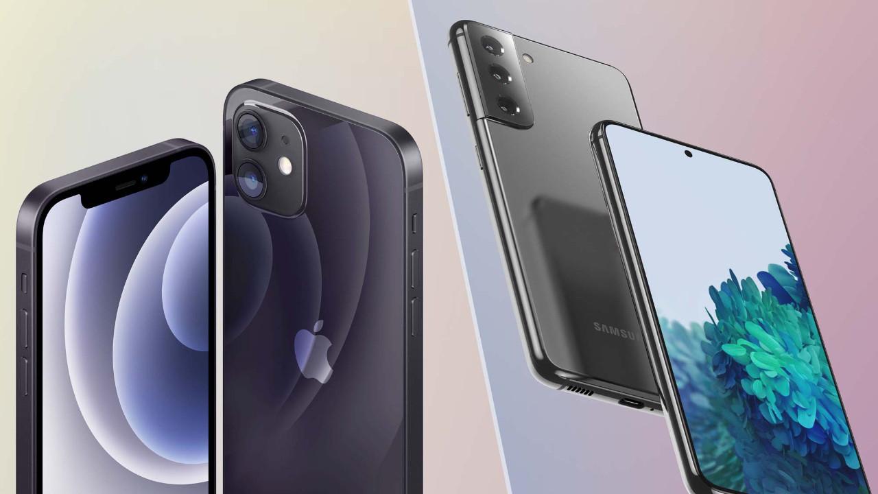 Galaxy S21 ile iPhone 12 karşılaştırması! Bakalım kim dövüyor?