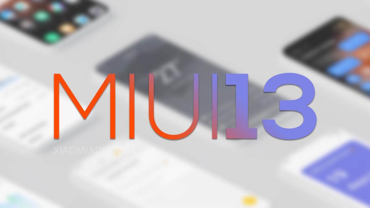 MIUI 13 alacak ilk Xiaomi modelleri belli oldu!