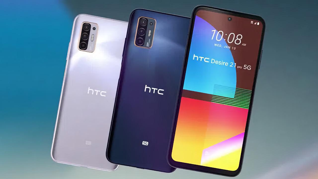 HTC ölmedi! HTC Desire 21 Pro tanıtıldı!