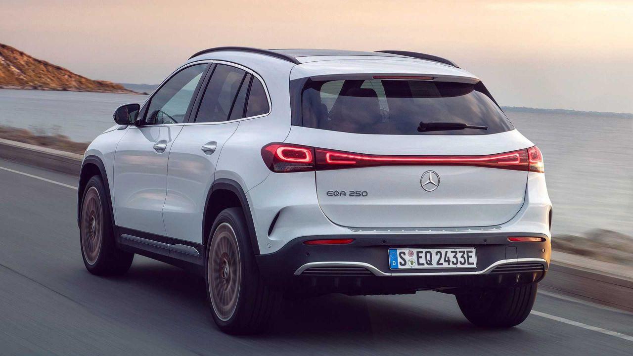 Uygun fiyatlı elektrikli SUV: 2022 Mercedes-Benz EQA! - Page 2