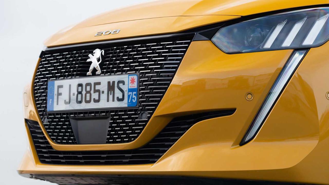 Peugeot da logosunu değiştirdi! İşte yeni logo!