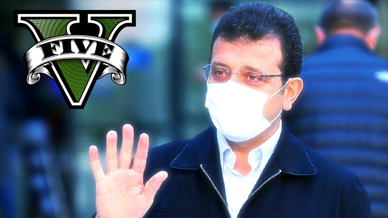 İBB Başkanı Ekrem İmamoğlu GTA 5 paylaşımı ile dikkat çekti!