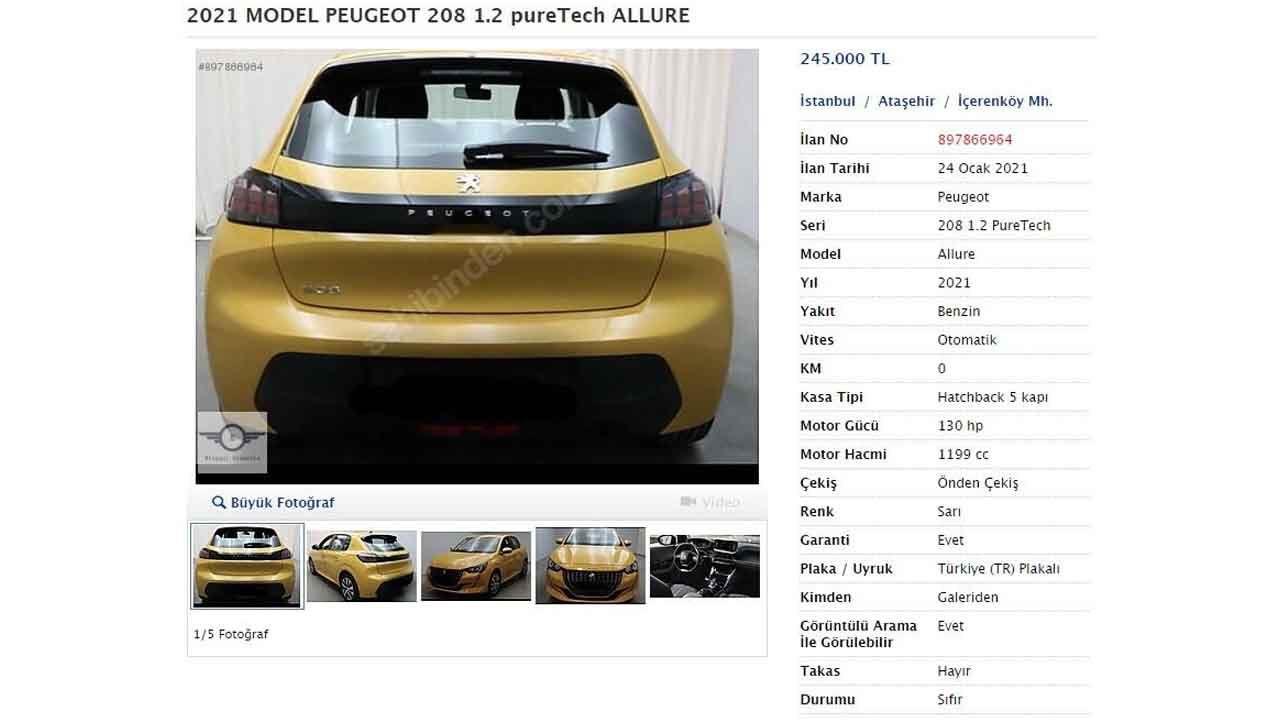 Peugeot 208 almak isteyenlere kötü haber! Sıfırı ikinci elinden ucuz! - Page 2