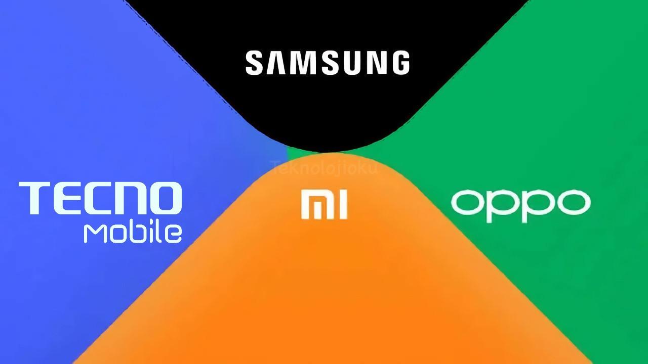 OPPO Xiaomi Samsung