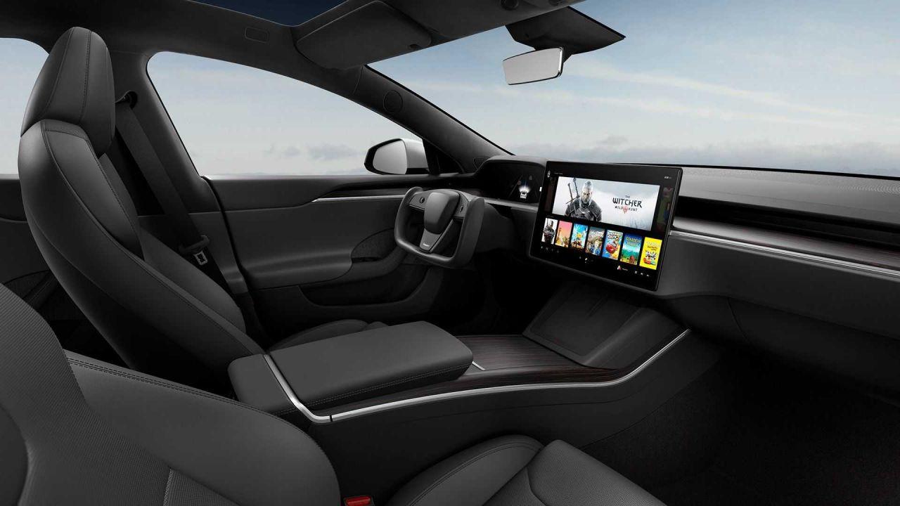 Tesla Model S oyun canavarına dönüştü! Elon Musk PS5'e rakip olacak! - Page 1