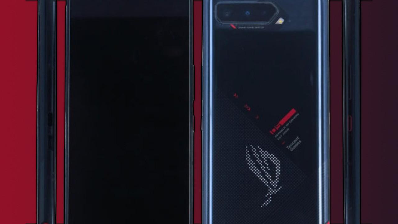 ROG Phone 5 RGB ışık ile gelebilir