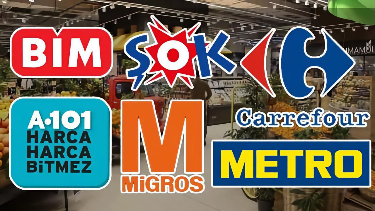 A101 ve Bim gibi marketlerde pek çok ürünün satışı yasaklandı!