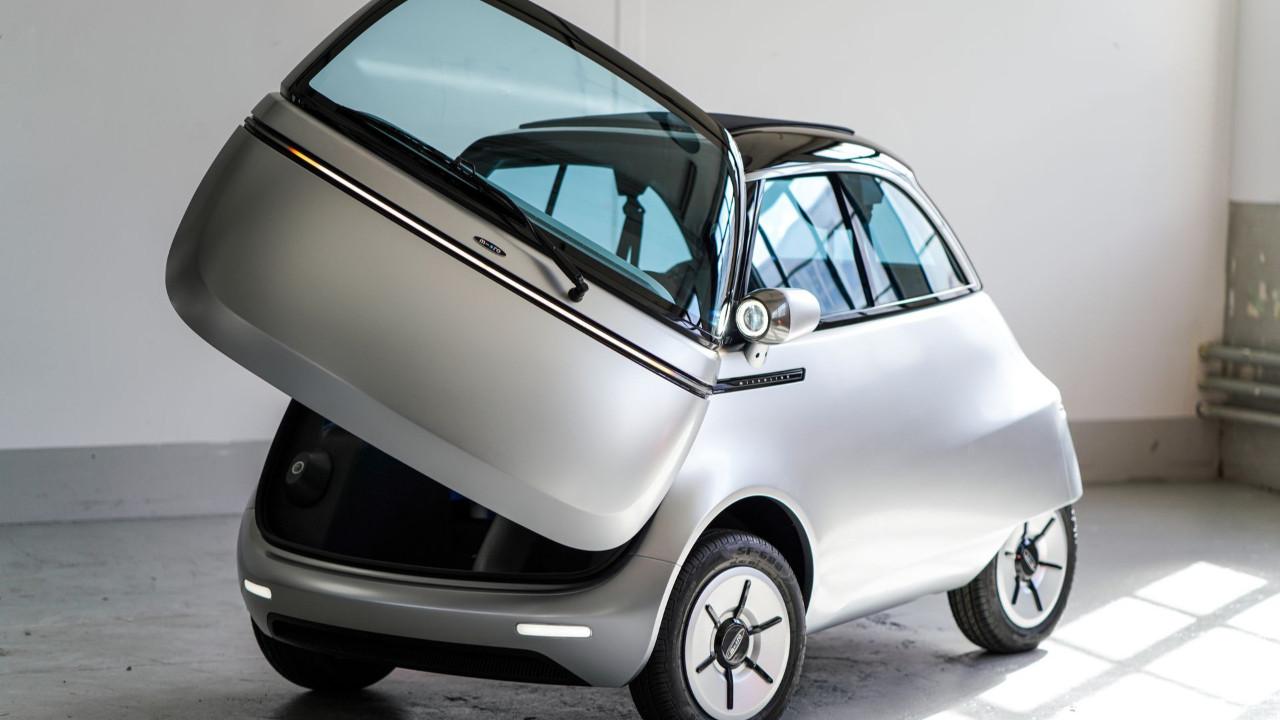 Bu otomobil Türkiye'de peynir ekmek gibi satar! İşte Microlino
